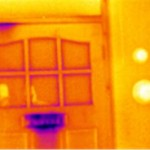Thermal Imaging: Draughty door