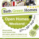 Bath Green Homes 2014 Poster