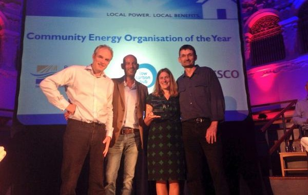 BWCE UK Community Energy Award 2014