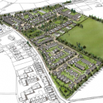 Ensleigh North Planning Application Illustrative 3D layout