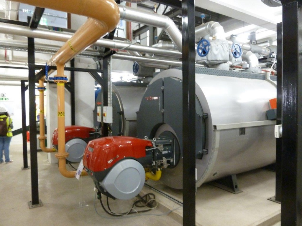 Riverside Energy Centre Gas Boilers