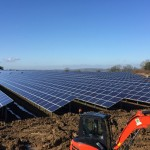 BWCE Wilmington Solar Farm Under Construction
