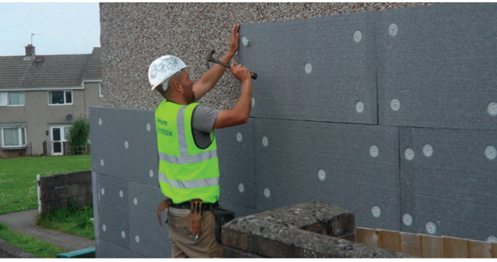 External Wall Insulation Installation