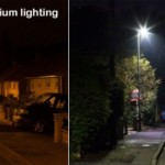 LED versus Sodium Street Lighting