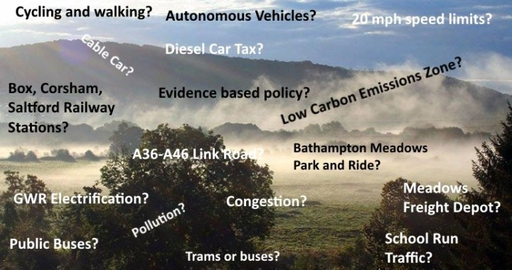 Transport Questions for Prospective MP 2017