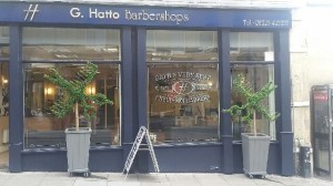Hatto Barbers Broad Street Topiary