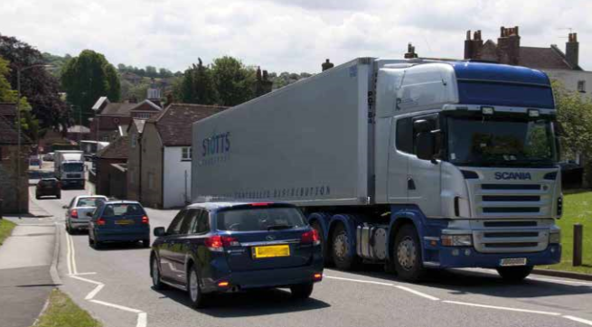 HGV Lorry BNES Wiltshire Dorset North South Transport Prospectus