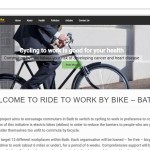 Ride To Work Electric Bike Website Snapshot