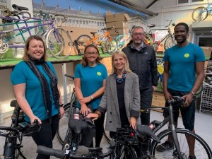 Curo Bike Photo Launch with Wera Hobhouse